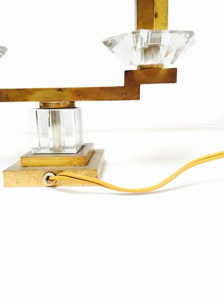 lampe ann es 40 les volets bleus antiquit s brocante d co design. Black Bedroom Furniture Sets. Home Design Ideas